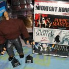 Rare Puppet Master Pinhead Figure & Complete Puppet Master DVD Collection