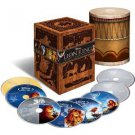Lion King 8-Disc Blu-Ray DVD Movie Trilogy