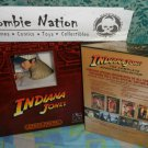 Indiana Jones Collector DVD Movie & Statue gift set