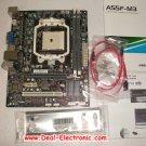 For ECS motherboard A55F-M3 Socket FM1/ AMD A55 FCH/ DDR3/ A&GbE/ MATX desktop mainboard MB