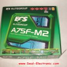 For ECS motherboard A75F-M2 Socket FM1/ AMD A75 FCH/ SATA3&USB 3.0/ A&GbE/ MATX/DDR3 desk board
