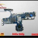 For HP motherboard 594028-001 ProBook 8440B 8440P 8440W LA-4902P Intel DDR3 for HP