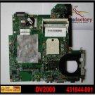 For HP motherboard 431844-001 V2000 V3000 DV2000 DV3000 motherboard AMD G6150 MB integrated DDR2