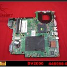 For HP motherboard 448598-001 DV2000 DV2500 DV3000 V2500 motherboard intel integrated DDR2 mainboard