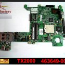 For HP motherboard 463649-001 TX2000 motherboard AMD G06150 integrated DDR2 laptop mainboard