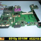 For HP laptop motherboard 452218-001 8510P 8510W motherboard DDR2 intel CPU Non-integrated