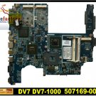 For HP motherboard 507169-001 DV7 DV7-1000 motherboard DDR2 intel PM45 Non-integrated mainboard