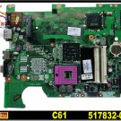 Original For HP motherboard 517832-001 CQ61 G61 motherboard DDR2 intel integrated laptop mainboard