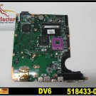 Pomotional For HP Pavilion motherboard 518433-001 DV6 motherboard DDR2 intel GM45 laptop mainboard