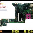 For HP laptop motherboard 481538-001 B1200 2210B series DDR2 intel for HP motherboard 630279-001
