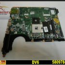 For HP pavilion motherboard 580978-001 DV6 motherboard DDR2 Intel HM55 integrated mainboard