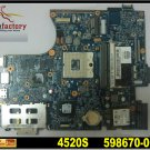For HP motherboard 598670-001 4720s 4520s motherboard DDR3 intel PM Non-integrated laptop mainboard