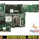 For HP motherboard 407831-001 DV5000 motherboard DDR2 AMD GM integrated For HP laptop mainboard