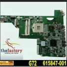 For HP motherboard 615847-001 G72 motherboard DDR2 Intel HM55 integrated For HP laptop mainboard