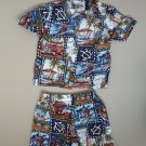 Boys 6-12 month, HAWAIIAN outfit (shirt & shorts), spring/summer, TOO CUTE!