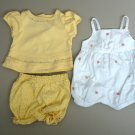 GYMBOREE, Girls size 3-6 months, TWO outfits, One piece&Shirt, Excellent Condition!