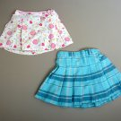 TWO Girls size 24 months PLEATED SKIRTS, Excellent Condition, SUPER CUTE!