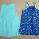 TWO Girls size 4 Spring Summer Dresses, Excellent Condition