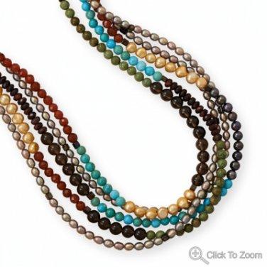 Spice Market Brass Necklace