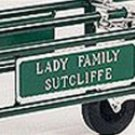 Nameplate for Casket Carrier (Pair)