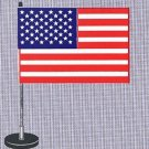 Magnetic American Procession Flags