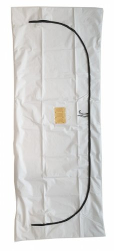 PVC/ Vinyl Curved Zipper-Body Bag-Case of 25