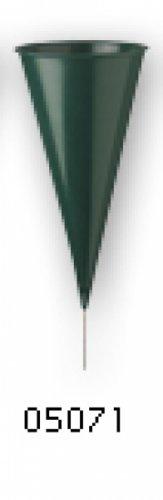 Cemetery Vase-Metal Cone-Case of 36