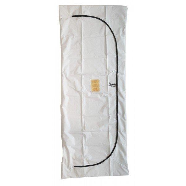 White Peva Body Bag