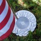 Flat Veteran Flag Holder