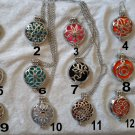 Chakra Reiki Aromatherapy Healing Essential Oil Diffuser filigree locket
