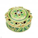 Great Gift Ideal. Beautiful Decorative Trinket Boxes with Crystals