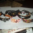Fun Kids Leather Design Bracelets