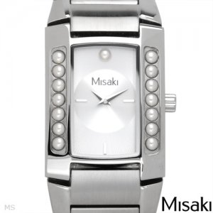 MISAKI Brand New Watch With Faux pearls Retail $439 Save Money Now!