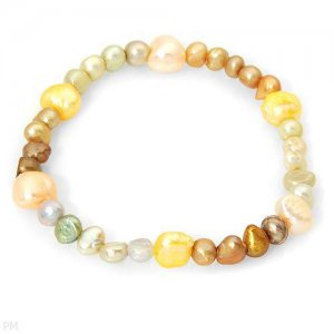 Exquisite Brand New Bracelet With Genuine Freshwater Pearls . Buy Now. CUTE.
