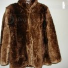Vintage Looking Faux Fur Coat no size