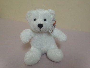 cute white teedy bear