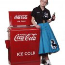 New 1930&#39;s style Coca Cola  REFRIGERATOR Coke machine