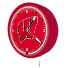 New 1950&#39;s style Wisconsin Badgers HUGE neon metal clock, Coke Fridges available