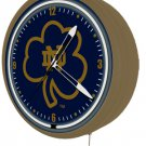 New 1950&#39;s style Notre Dame Fighting Irish neon metal clock -50+ teams available