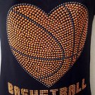 NEW She is sarah  bashet ball Rhinestone womens T-Shirt Tee SZ -S,M,L,XL,2XL