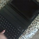 Blackberry Playbook or any 7inch tablet black leather keyboard case. Great Keyboard!