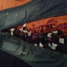 Aeropostale misses juniors sz 9 10 long jeans Hailey skinny flare jeans