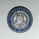 Grand Lodge Of Massachusetts 50 Years Sterling Silver Pin