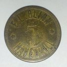 1900's F.L. Blinn Haverhill Mass Merchants Token