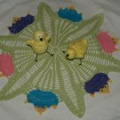 Hatching Chicks Crochet Doily Pattern