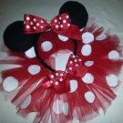 Toodleloos Minnie Mouse Tutu with Ears