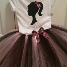 Barbie Tutu Outfit 6-10 girls