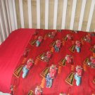 Lightning McQueen Crib/Toddler Blanket and sheet set
