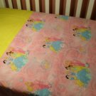 Disney Princess (Pink) Baby/Toddler Blanket Set-CUSTOM