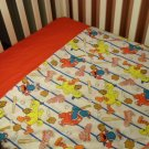 Sesame Street Baseball  Blanket and Sheet - Custom Made